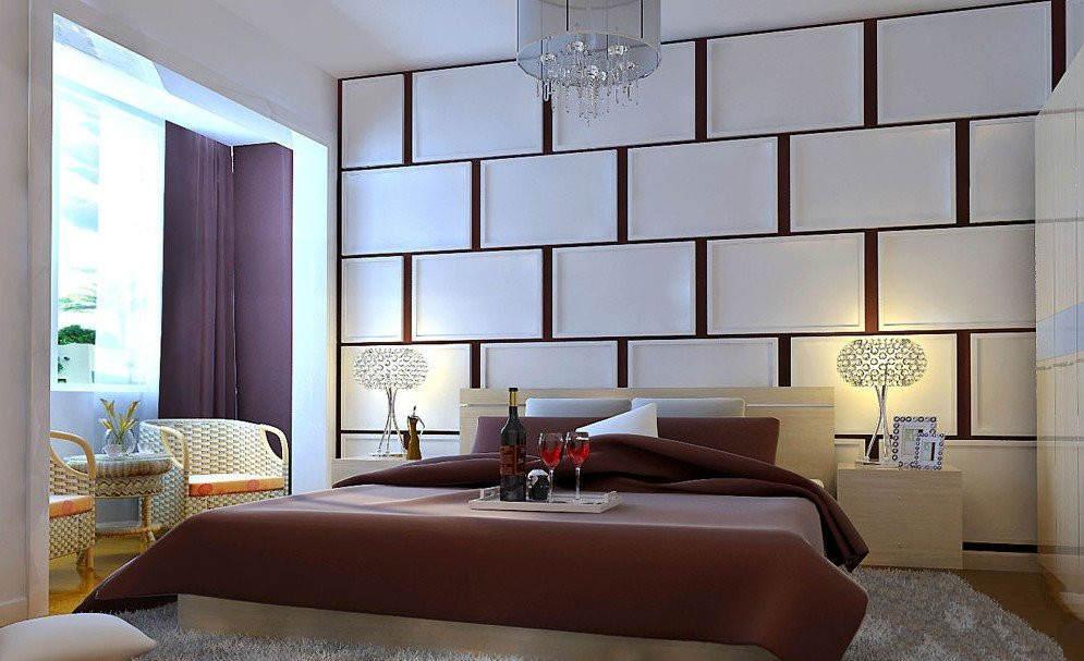 卧室硬包装修效果图